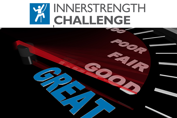 IK Challenge logo and Greatness meter